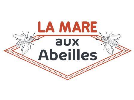 logo du producteur de fleurs la mare aux abeilles