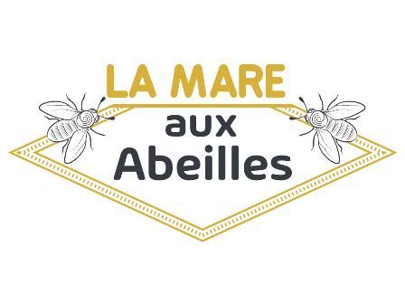 logo de l'apiculteur la mare aux abeilles