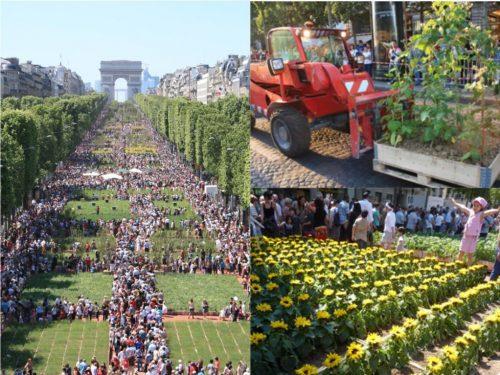 photos de l'evenement nature capitale des jeunes agriculteurs